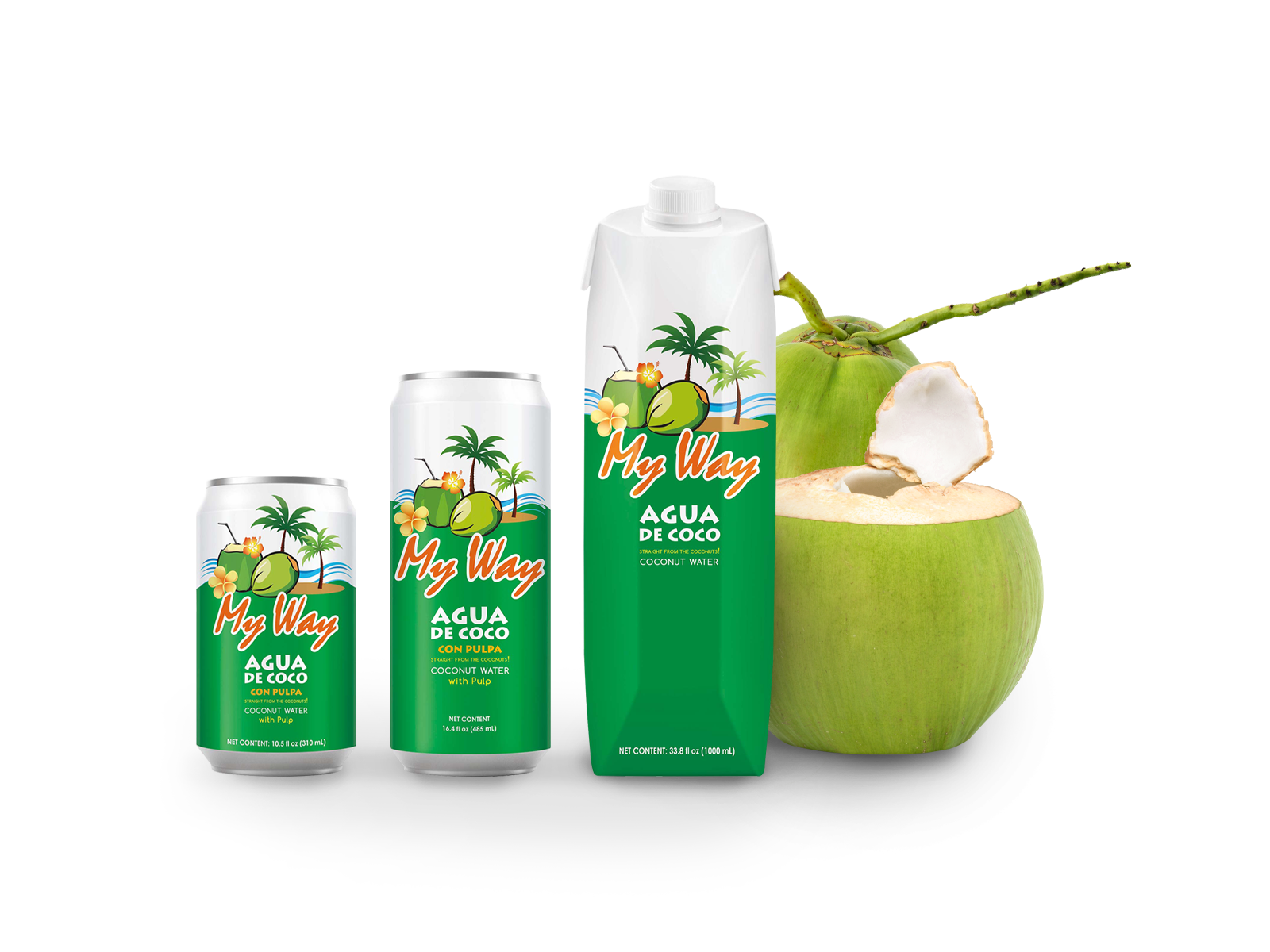 My way Coconut water